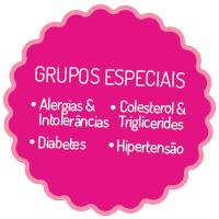 Grupos Especiais - Alergias & Intolerâncias - Diabetes - Colesterol & Triglicerides - Hipertensão